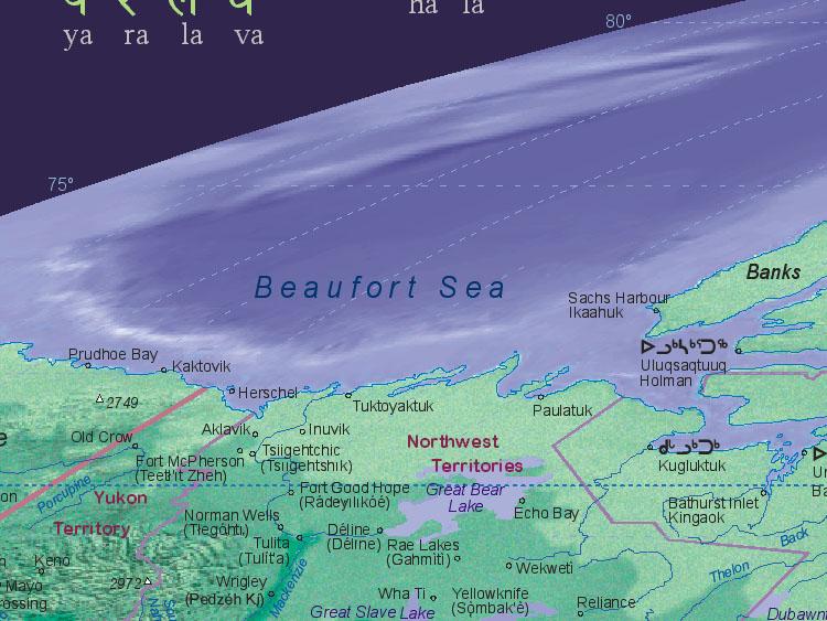 hope canada maps