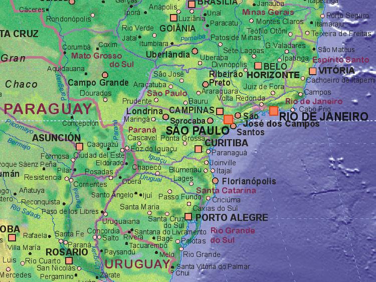 of Brazil south