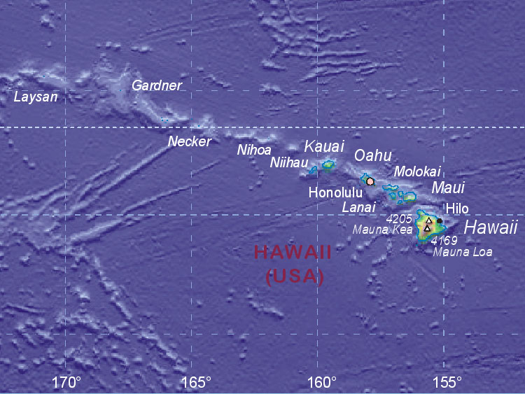 Map of hawaii us gumiabroncs Gallery