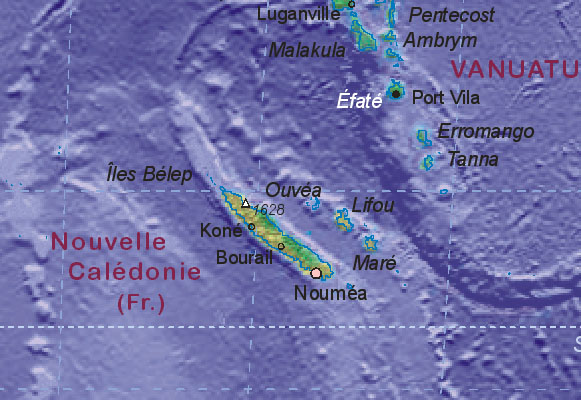 of New Caledonia FR