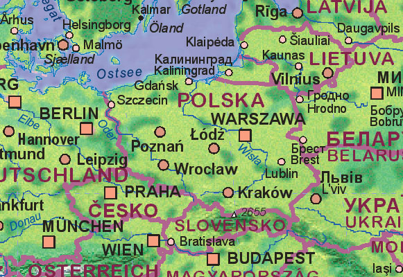 Of Poland - Vilnius maps google