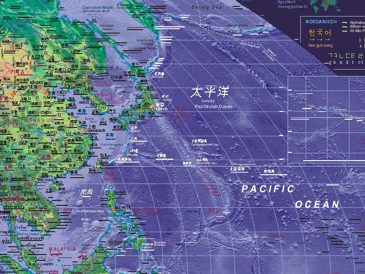 of West Pacific Ocean
